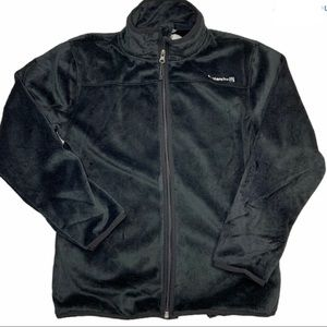 Avalanche Black Soft Fleece Coat Sz M (10/12) NWT